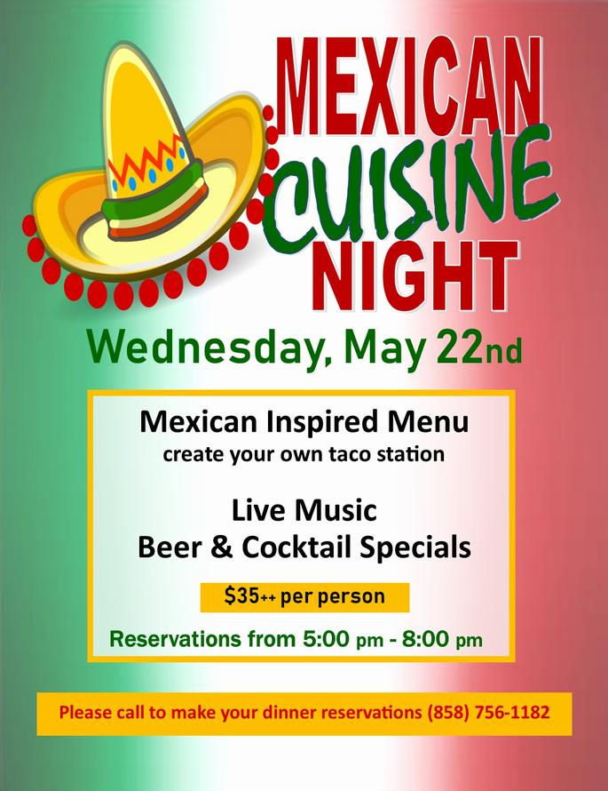 Mexican Cuisine Night